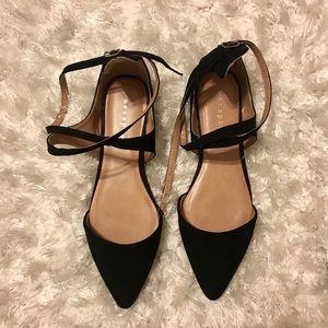Target Shoes - Metaphor | Black Flats 🌼